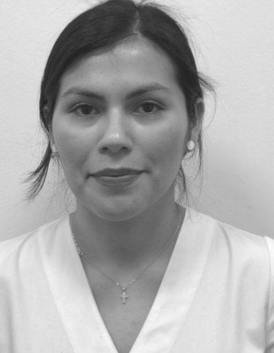 Sandra Bellido, técnico estético