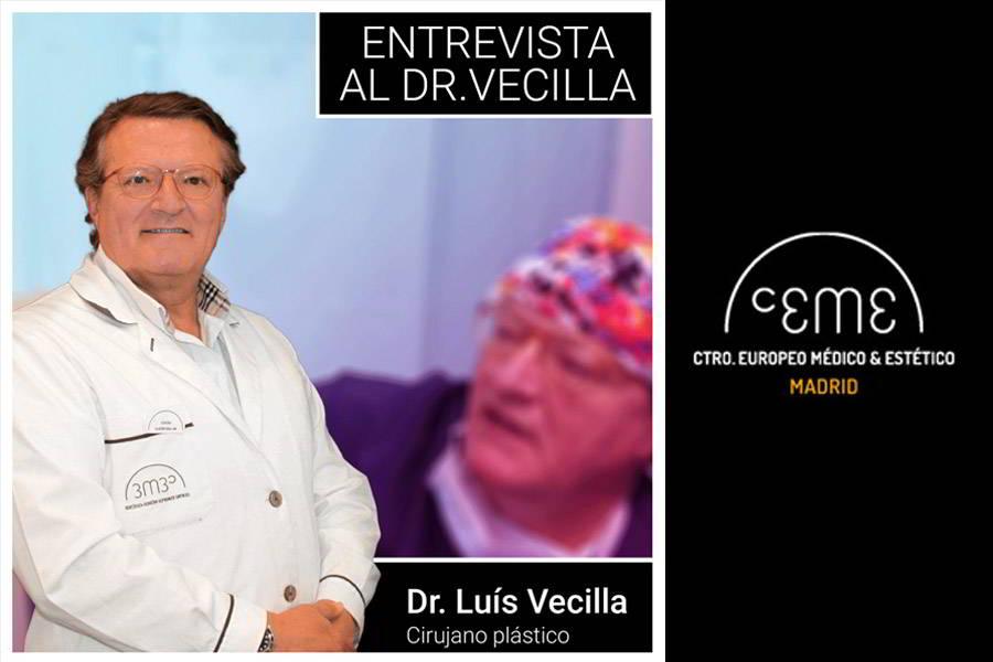 Entrevista al Doctor Luis Vecilla, cirujano plástico en CEME